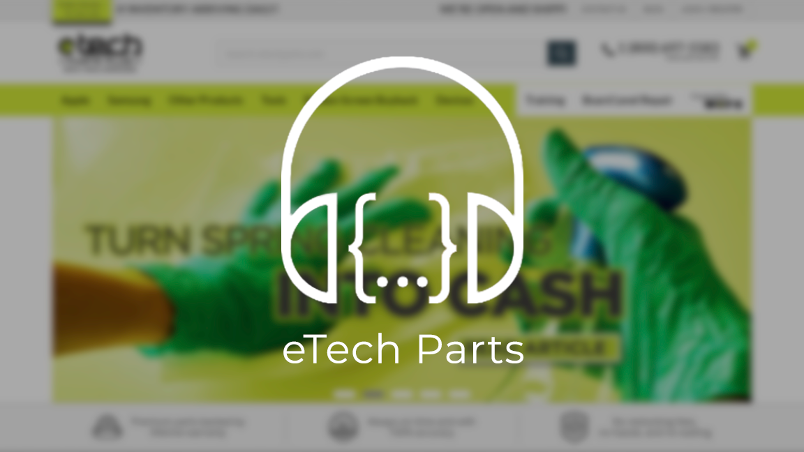 Load In The Loop: Episode 8 – eTech Parts