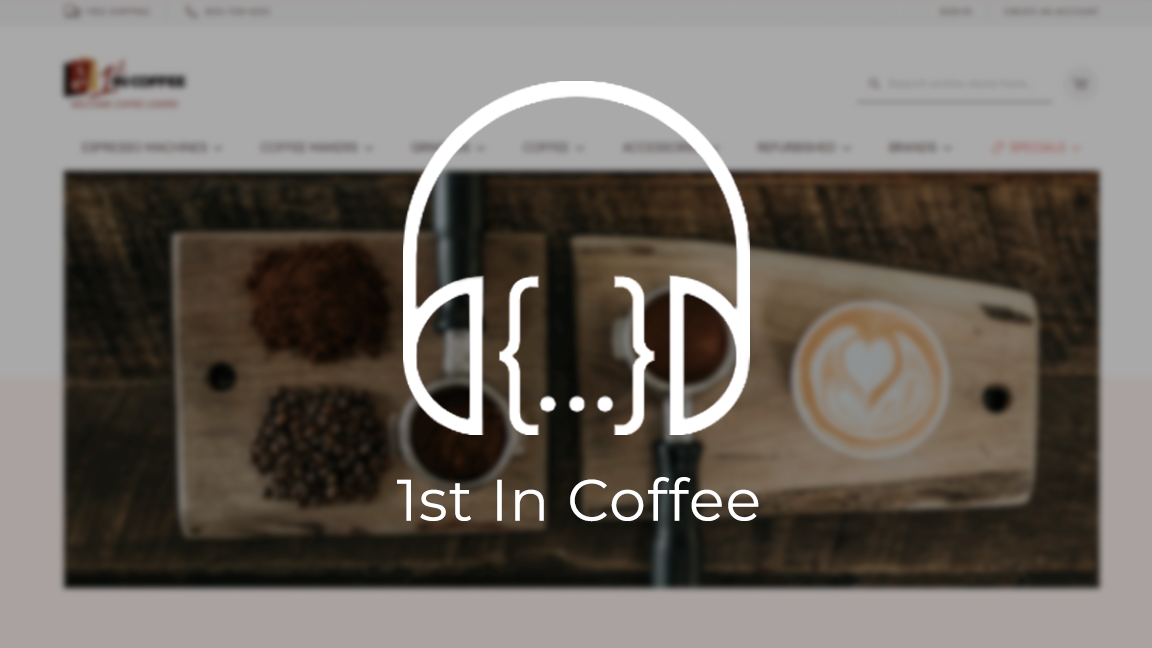 Load In The Loop: Episode 20 – 1st In Coffee